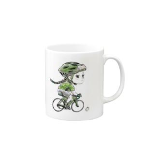 つんでれロード_グリーン Mugs