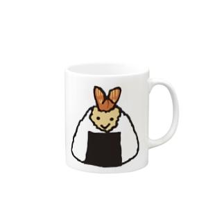 笑顔のおむすび(天むす) Mugs