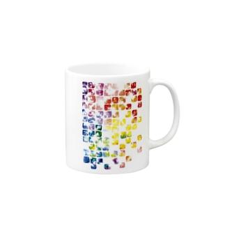虹色硝子 Mugs