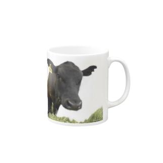 フレンドリーなウシ Mugs