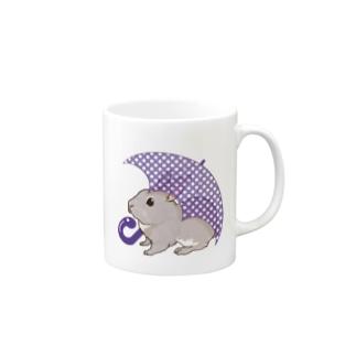 アンブレララビット Mugs