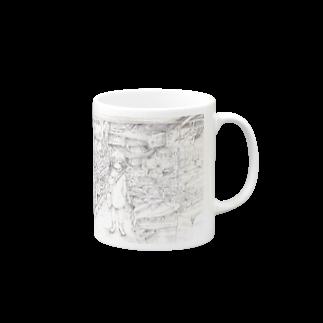 ROBOの不思議な市場 Mugs
