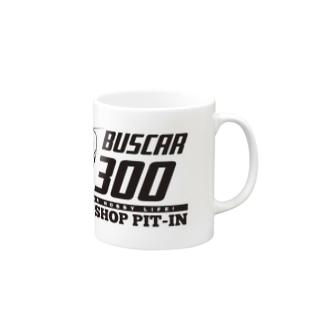 Bot屋のBUSCAR記念 背面のみ Mugs