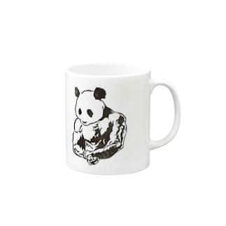 マッスルパンダ Mugs