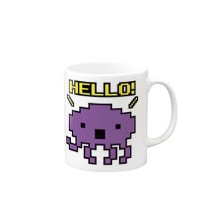 HELLO!エイリアン Mugs