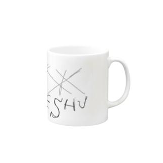 I LOVE ESHU 黒字 Mugs