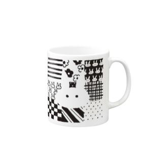 パッチワーク Mugs