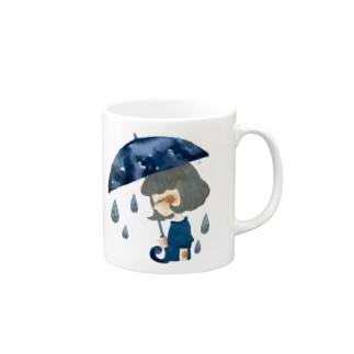 あめふり Mugs