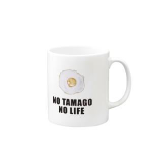 NO TAMAGO NO LIFE Mugs