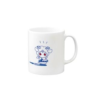 ヒツジのメルメル Mugs