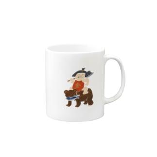 金太郎 Mugs