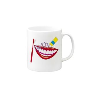 歯医者さんに誉められる歯に Mugs