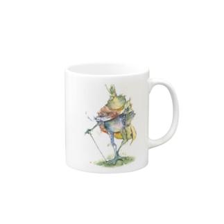 蛙の王 マグカップ