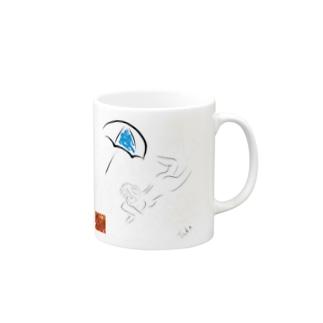 京都の魔雑貨堂のバカンス Mugs