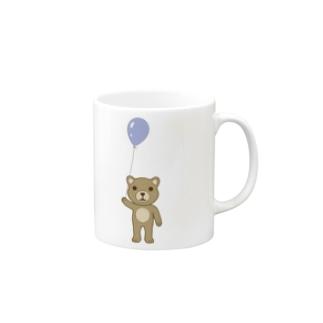 クマ Mugs