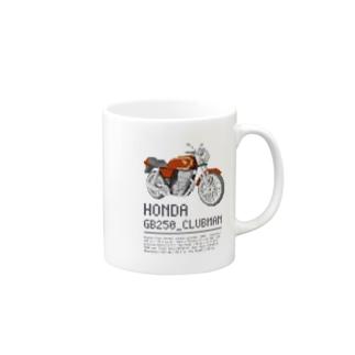 バイク_スペック_シリーズ Mugs