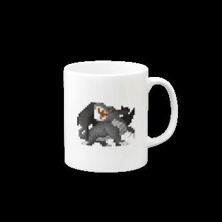 WINGLAYの黒龍 マグカップ