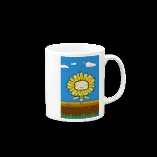 WINGLAYのひまわりーんマグカップ