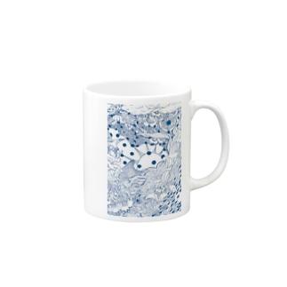 海を掬う Mugs