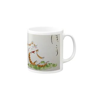 ほっこり猫 Mugs