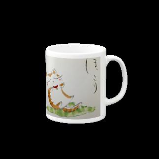 Torahamu39のほっこり猫 マグカップ