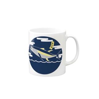 R-9.のYellow Fin Tuna. Mugs