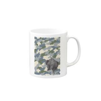 クロイトイプー Mugs