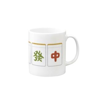 三元牌マグカップ Mugs