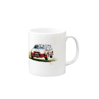 1998年三菱ランサーエボリューションⅤ GroupA Rally Finland Mugs