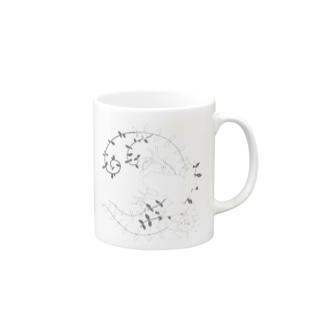 イムフロッグ Mugs