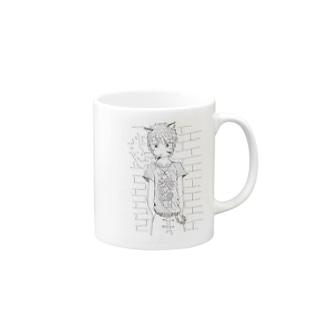 獣妹達(仁平) Mugs