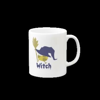 sakaの魔女っ子きりん Witch Mugs