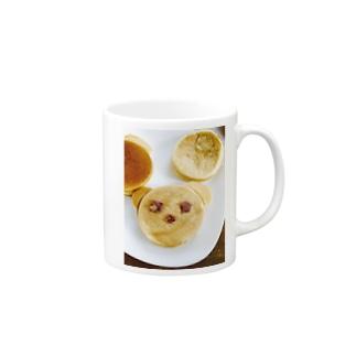 lucky wonder worldのくまちゃん今川焼♡ Mugs