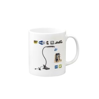 テーブルランプ型隠しカメラ Mugs