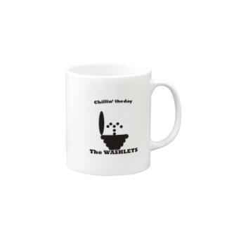 theWashlets-chillin' the day Mugs