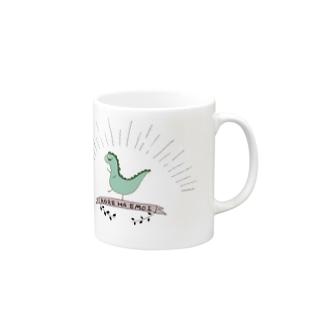 エモエモのエモザウルス Mugs