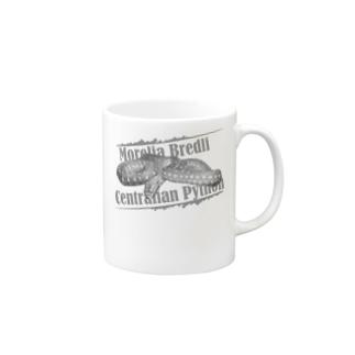 蛇の服(セントラルパイソン) Mugs