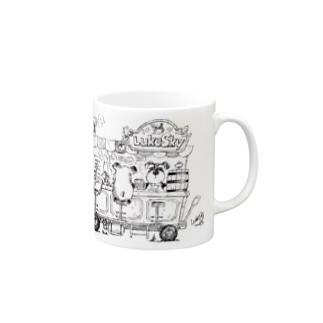 ルークカフェ Mugs