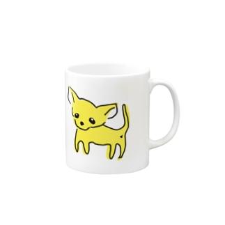 ゆるチワワ(イエロー) Mugs