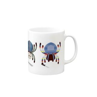 広島フレディのスパイダーキラーズ Mugs