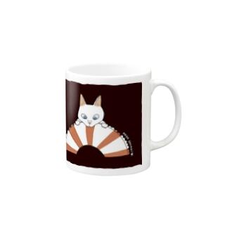 浮き輪にゃんこ(ライフセーバー) Mugs
