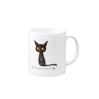 tsubasamoonの黒猫ムーン NEW Mugs