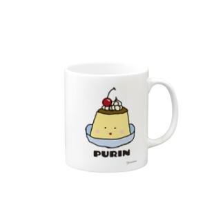 ぷるぷるプリン🍮 Mugs