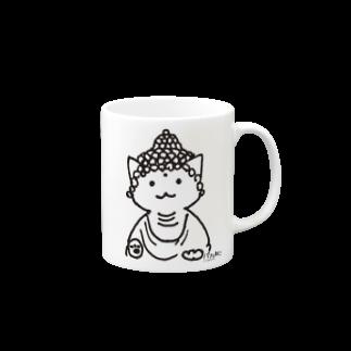 PygmyCat suzuri店の仏ニャン02 Mugs