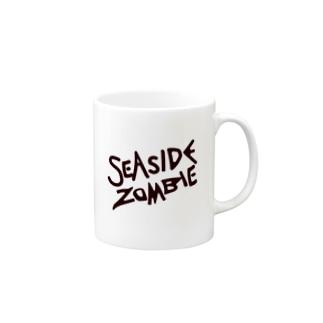 SEA SIDE ZOMBIE Mugs