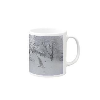 冬山の散歩 Mugs
