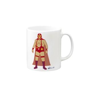 Red Rucha マグカップ