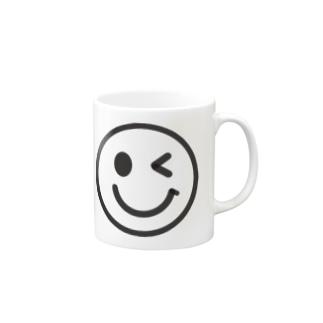 スマイルー Mugs