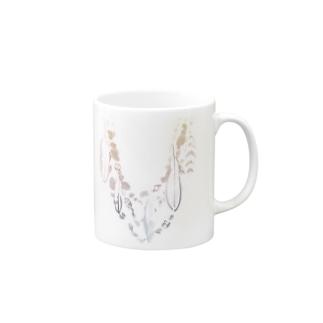 オシャレにおめかし♪〜桜〜 Mugs