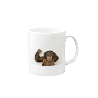 チンパンジー Mugs